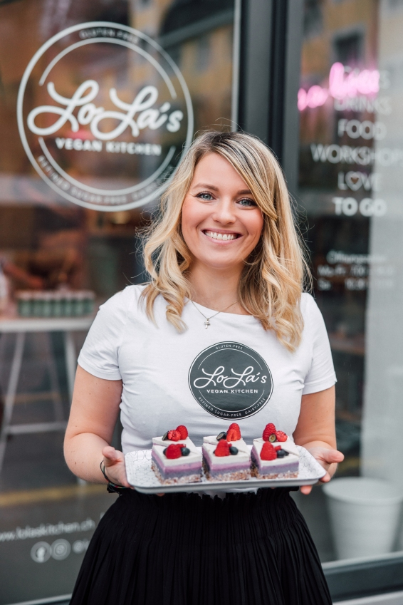 Alina, founder of LoLa's kitchen